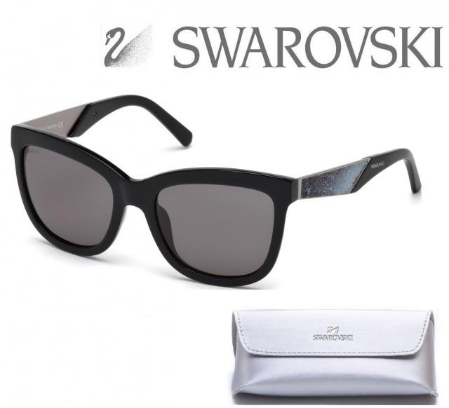 SWAROVSKI SUNGLASSES SK0125 01B