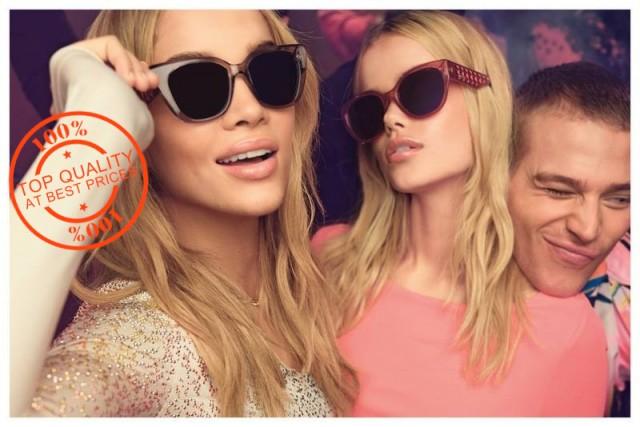 In timp ce ceasurile si gentile de dama falsificate reprezinta un risc relativ scazut pentru clienti, ochelarii de soare falsi pot fi foarte periculosi. Deoarece sunt fabricati din materiale ieftine , ei nu raspund  standardelor de securitate si de obicei nu au un filtru care sa protejeze  impotriva razelor ultraviolete daunatoare. Sa purtati ochelari de soare falsi poate fi mult mai periculos decat lipsa lor.