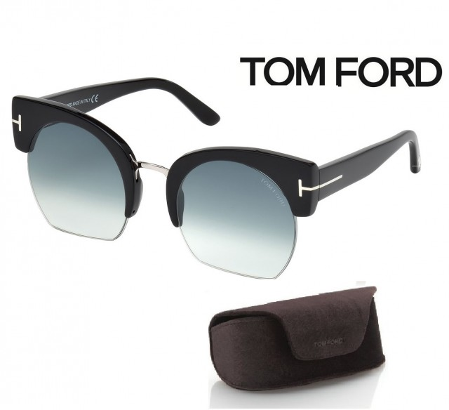 Tom Ford Sunglasses FT0552-F 01W 55