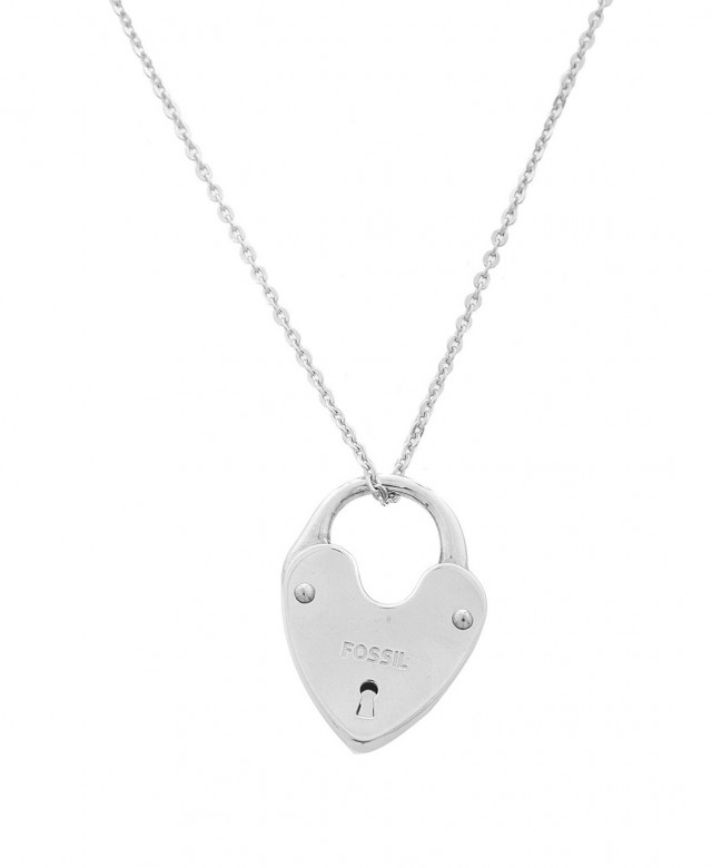 Fossil Women Necklace 925 silver silver JA4967040