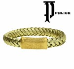 POLICE Leather bracelet PJ22045BLG-06-21