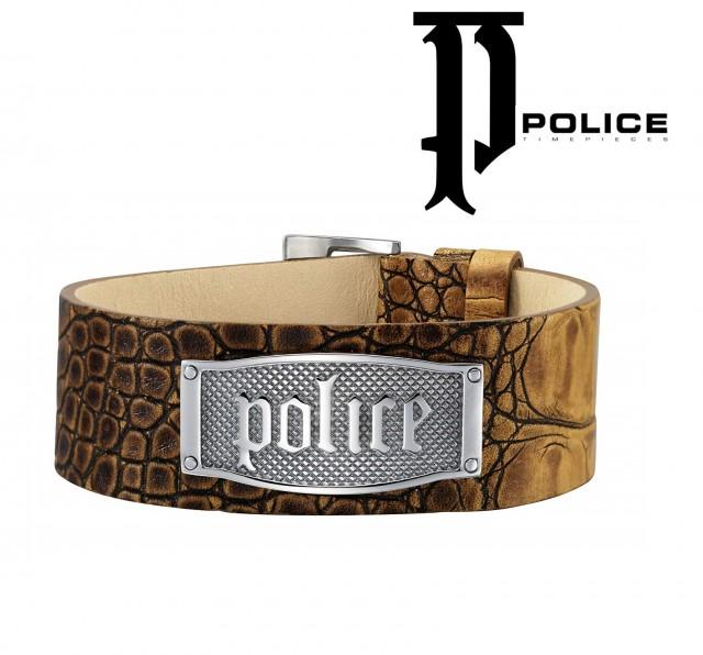 POLICE barbati Bratara din piele