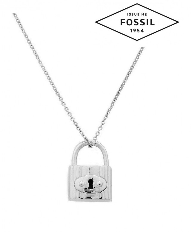 Fossil Women`s Necklace 925 silver silver JA4964040