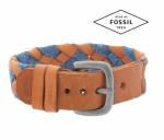 FOSSIL LETHER BRACELET JA6513797