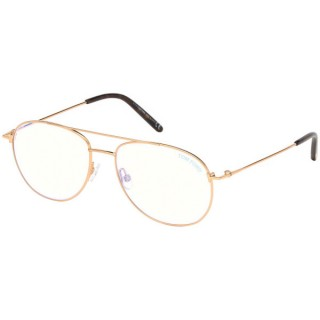 Tom Ford Optical Frame FT5581-B 03 55 Blue-Filter