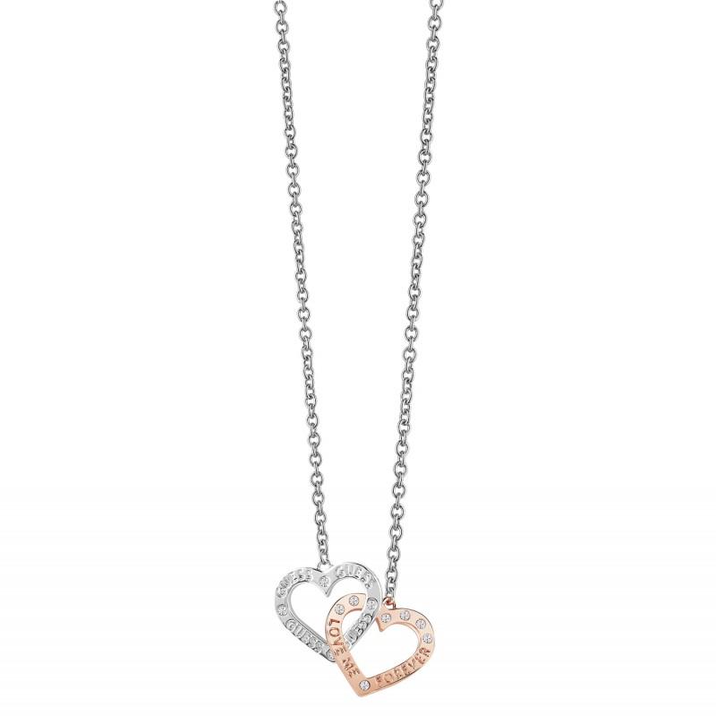 Guess Jewellery Set Necklace & Earrings GEJUBT01043