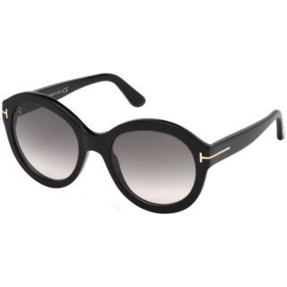 Tom Ford Sunglasses FT0611 01B 53