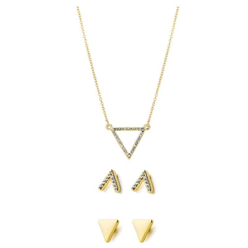 Pierre Cardin Jewellery Set Necklace & Earrings PXX7970